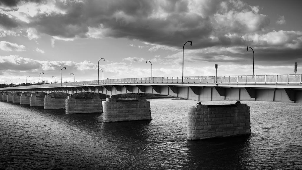 Harvey Taylor Bridge - Harrisburg, Pennsylvania - fine art photography