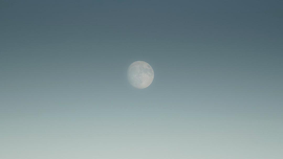 Super Moon over Susquehanna River - Harrisburg, Pennsylvania