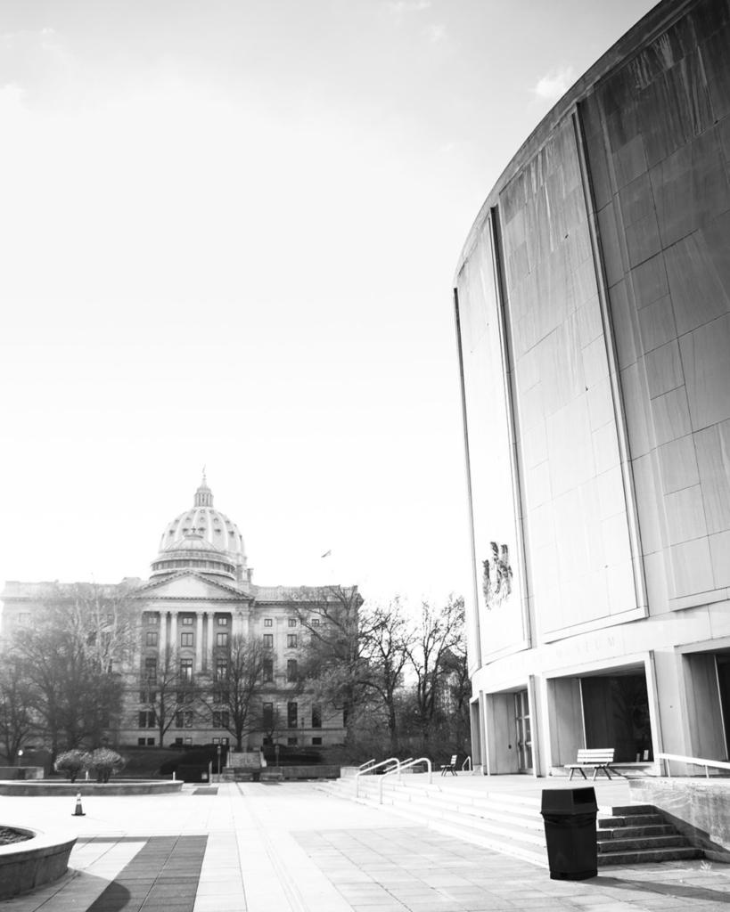 Capitol Building - Harrisburg, Pennsylvania - fine art street photography
