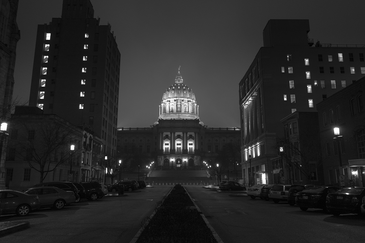 Capitol Building - Harrisburg, Pennsylvania - fine art street photography