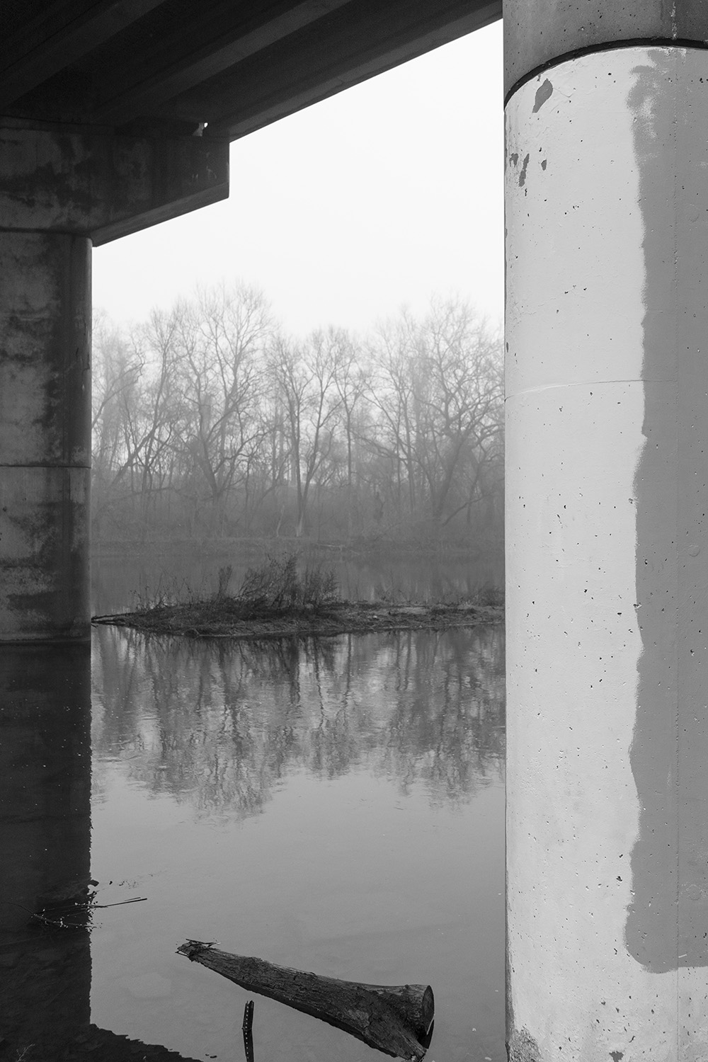 Bridge - Conodoguinet Creek - Fine Art Photography - Harrisburg, Pennsylvania