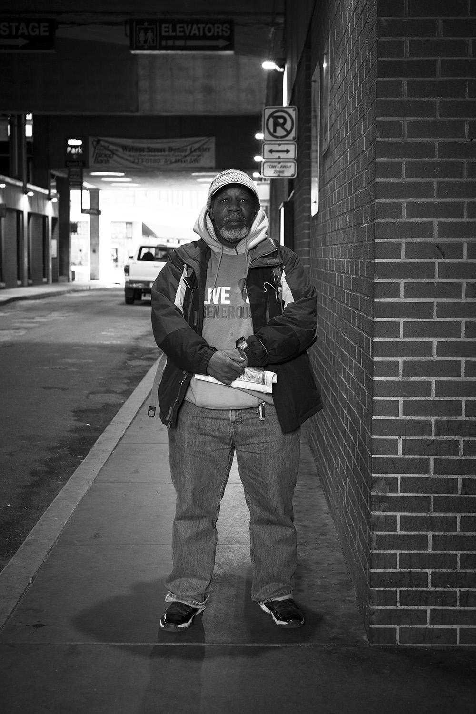 Street Portrait - Harrisburg, Pennsylvania - fine art