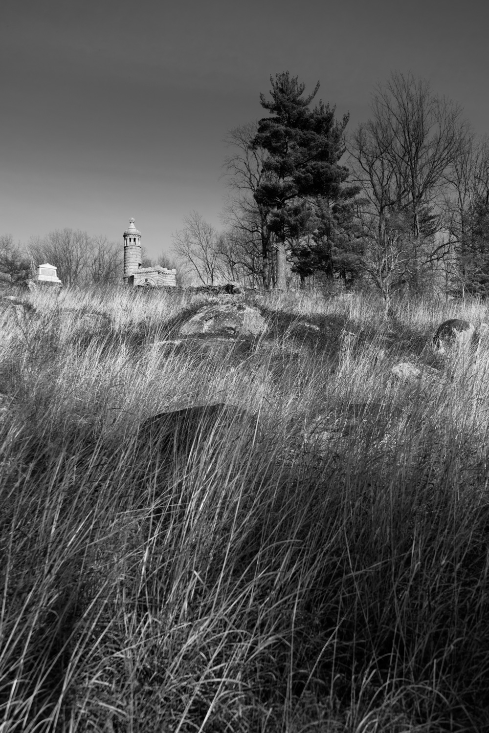 Little Round Top - Gettysburg National Military Park - Pennsylvania - travel photography