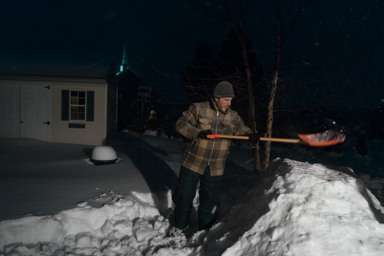Winter Storm Stella - Harrisburg, Pennsylvania