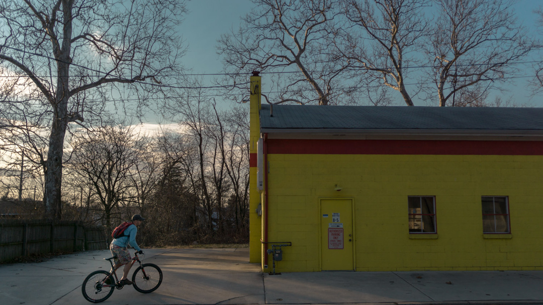 Bike Ride - New Cumberland, Pennsylvania - documentary photography