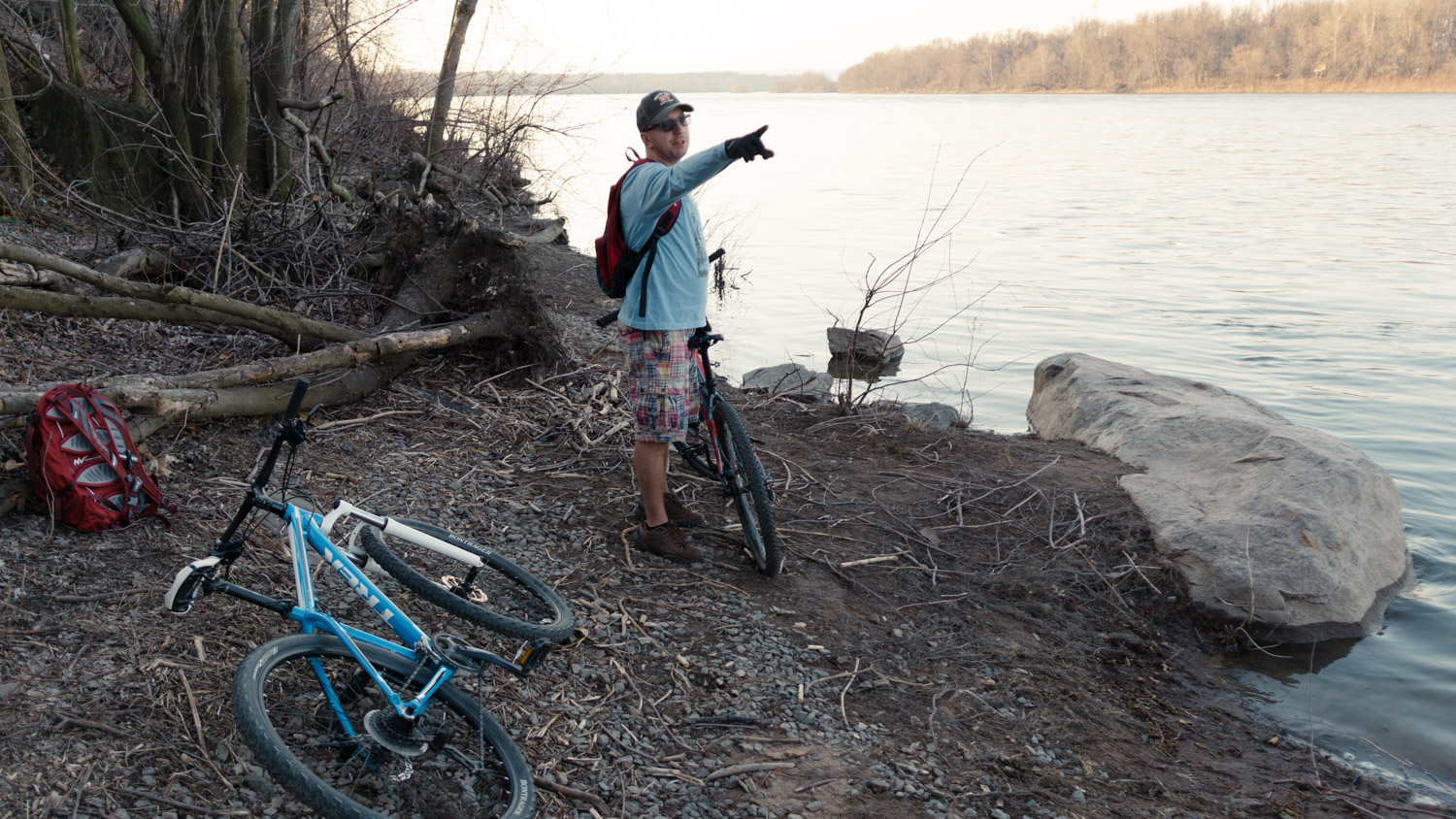 Bike Ride - New Cumberland, Pennsylvania - Susquehanna River - fine art photography