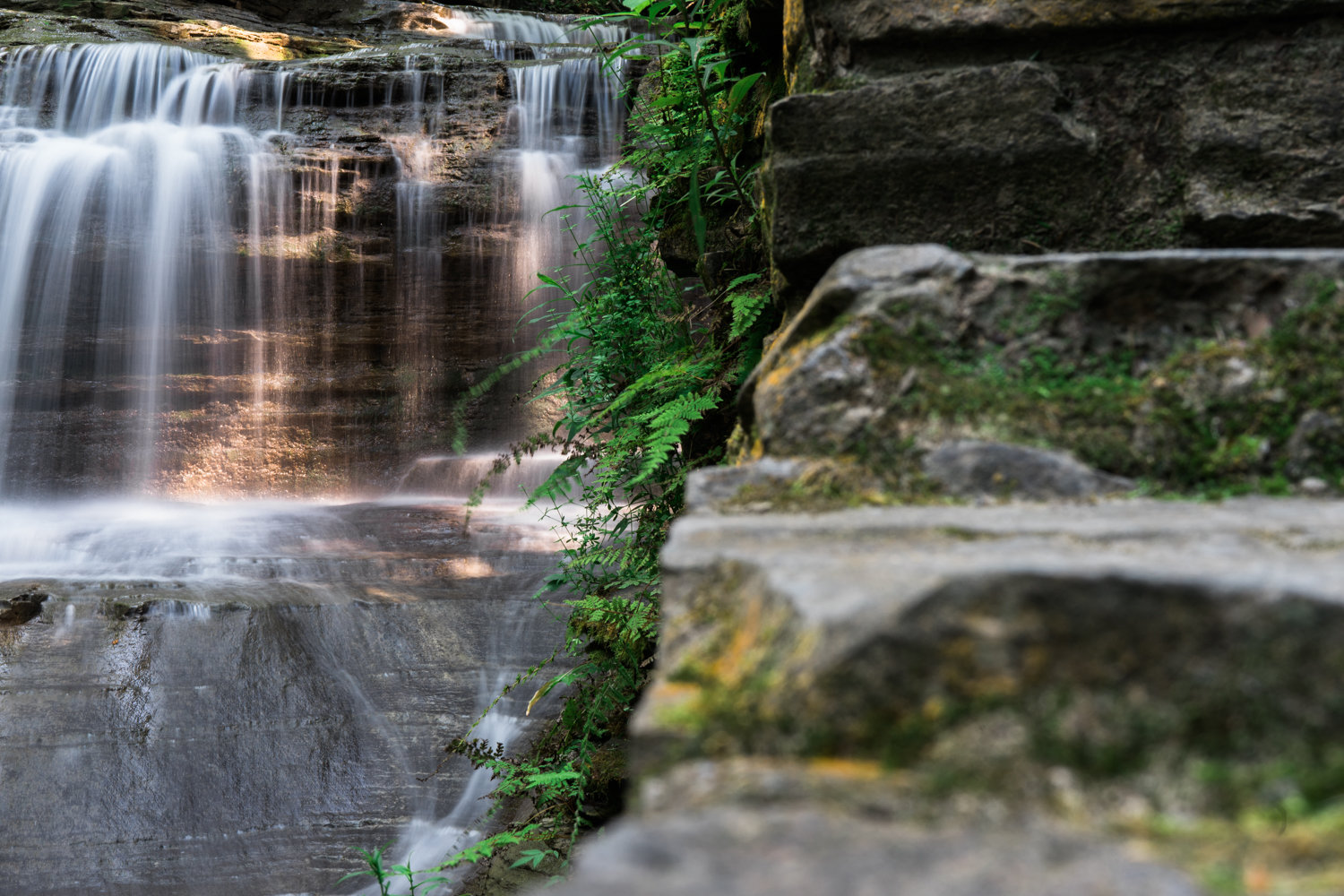 Buttermilk Falls State Park - Ithaca - New York - photography - nature - travel
