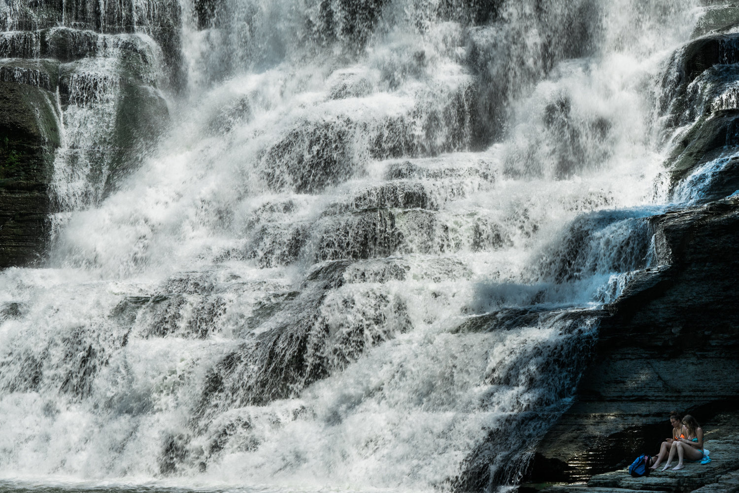 Ithaca Falls - New York - waterfall - nature - travel - fine art photography