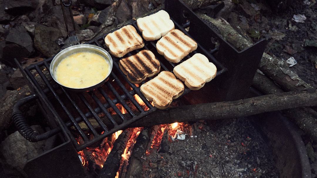 A Breakfast in Nature - camping - campfire - hiking - Tuscarora State Forest