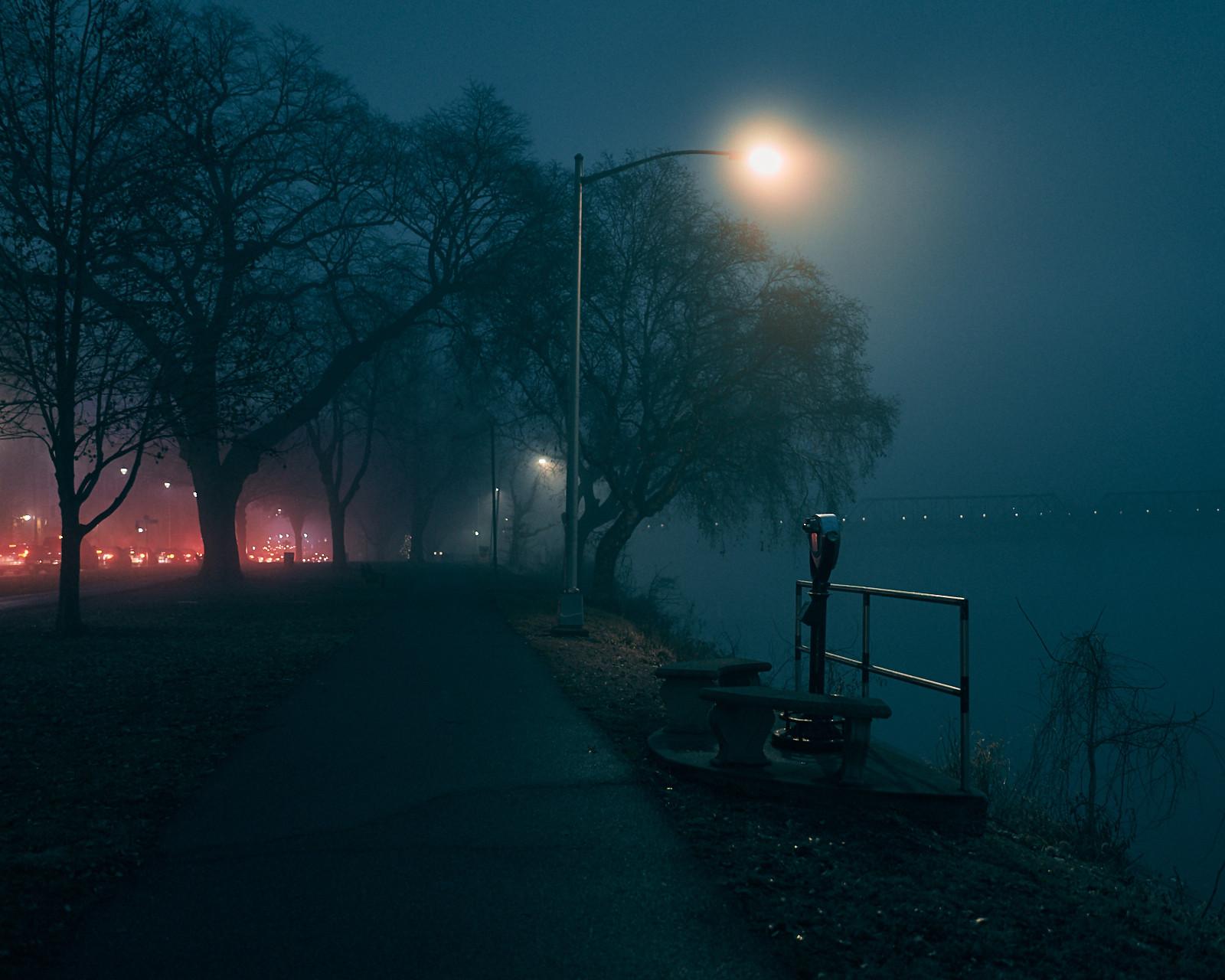 Front Street at Night - Harrisburg, Pennsylvania - fine art photography