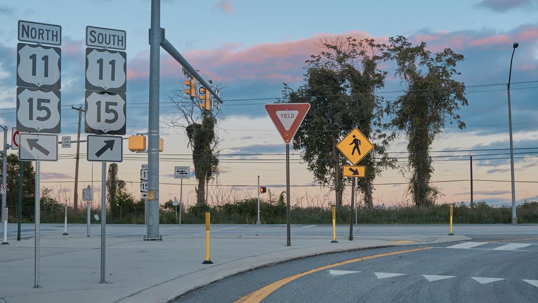 Pastel Drive - Harrisburg, Pennsylvania - fine art photography