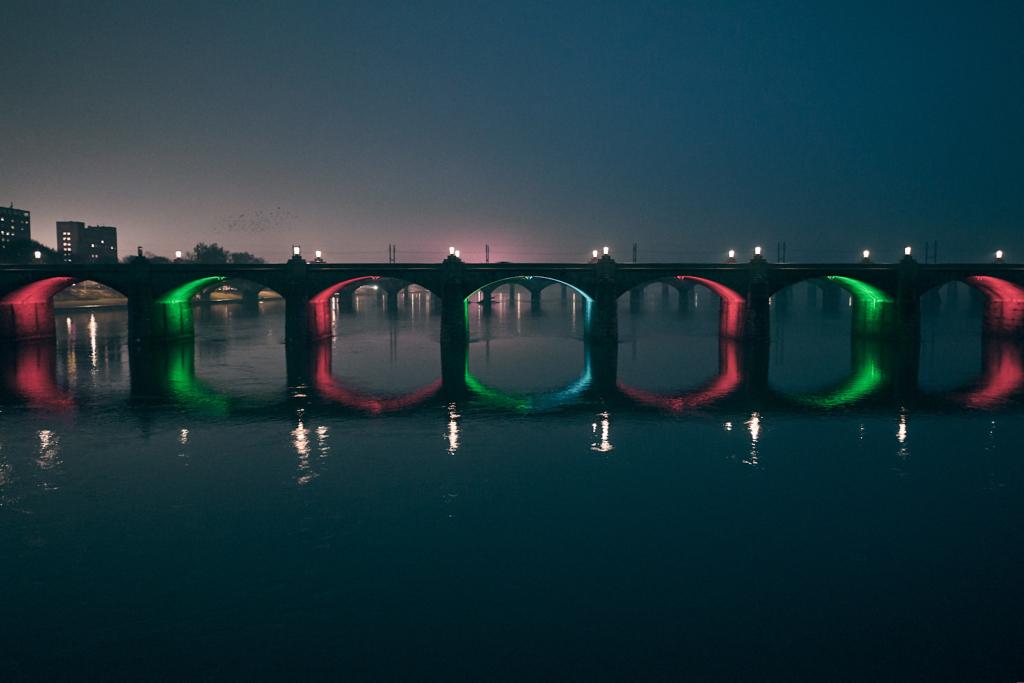 Market Street Bridge - Harrisburg, Pennsylvania - fine art photography