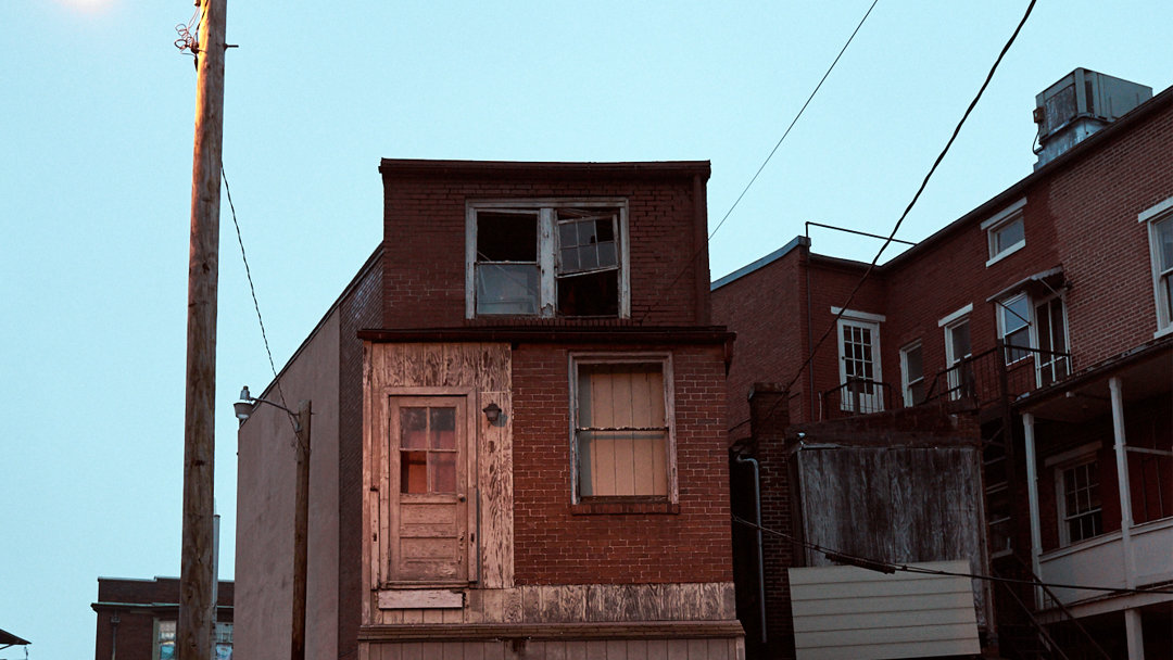 fine art, street photography, Harrisburg, Pennsylvania, twilight