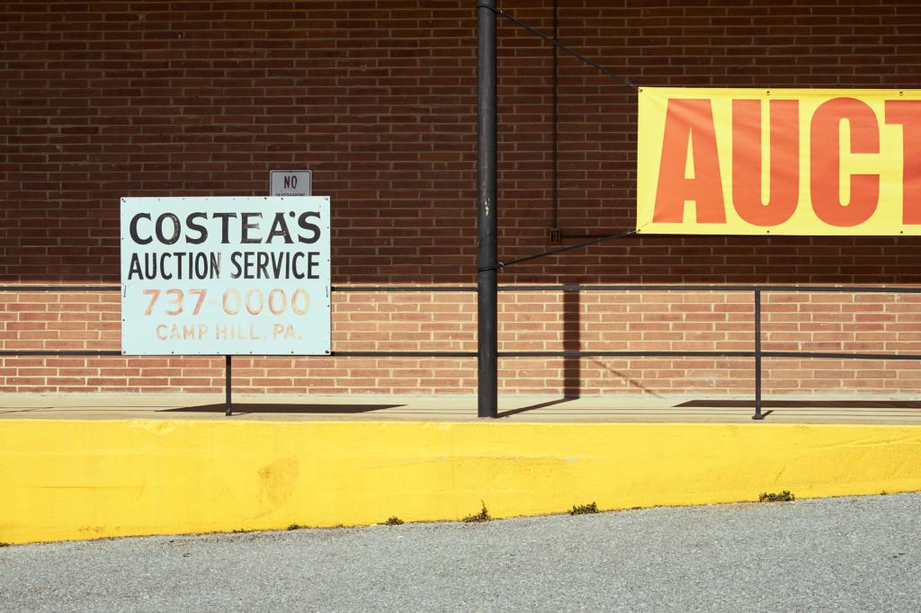 Costea's Auction Service - fine art street photography, Camp Hill, Pennsylvania