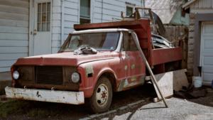 Classic, Antique, Truck, Mechanicsburg, Pennsylvania, street photography