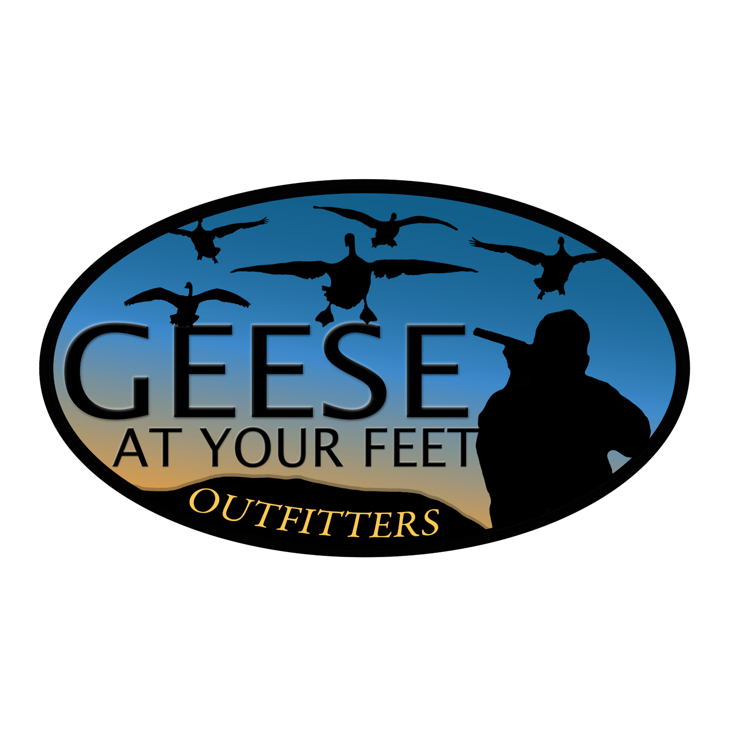 Geese at Your Feet Outfitters, Harrisburg, Pennsylvania, custom logo design