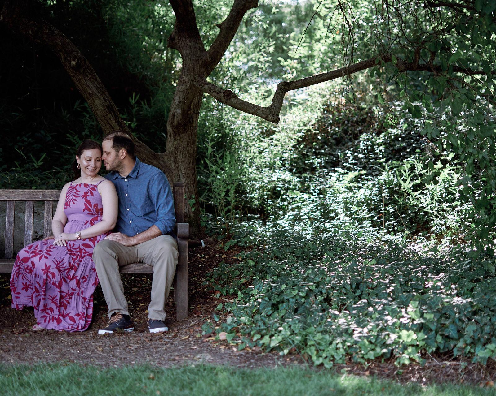 Sam & Maria Engagement Photos, Hershey Gardens, Pennsylvania