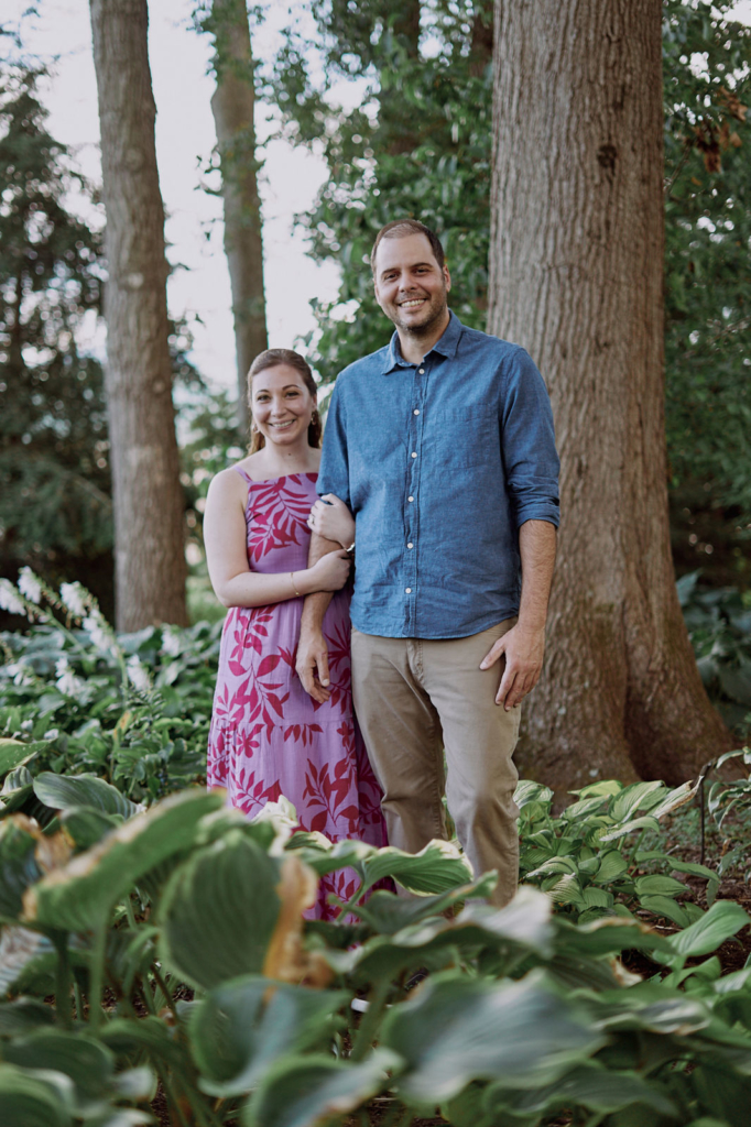 Sam & Maria Engagement Photos, Hershey Gardens, Pennsylvania